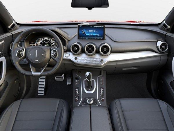 Роскошное кросс-купе WEY P8 GT станет конкурентом BMW X6