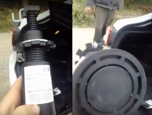 «Пластмассовый мир победил»: Опасный пластиковый домкрат LADA Granta FL возмутил водителей