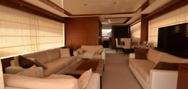 Яхта Princess 78 MY: элегантность в движении