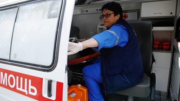 32-летняя женщина выпала с балкона военного госпиталя