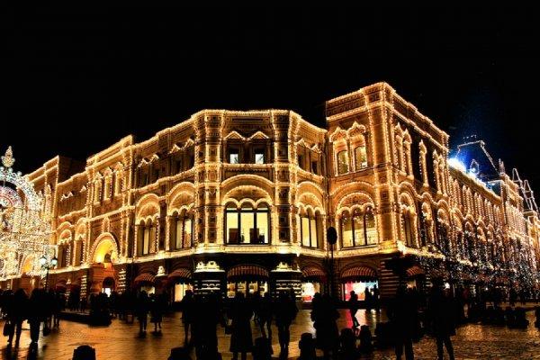 Гостиницы Москвы заполнены на 95% в преддверии Нового года