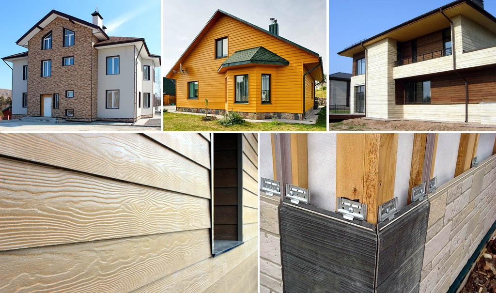 Виды и типы облицовки фасадов домов и зданий