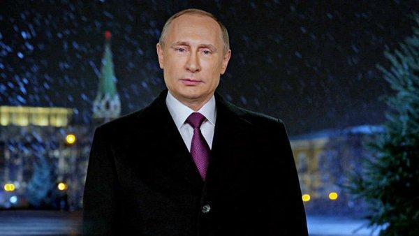 Новогоднее поздравление Владимира Путина возглавило рейтинг праздничного эфира