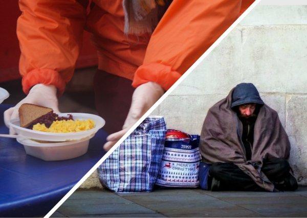 Богатые тоже плачут: Бесплатная кормежка бездомных обернулась элите скандалом