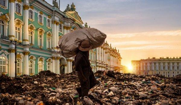 «Позор Петербурга»: Жители «культурной столицы» жалуются, что живут на помойке