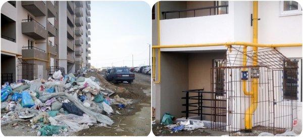 «Еще не сдали, а уже засрали»: Владимирские новостройки утопают в мусоре.