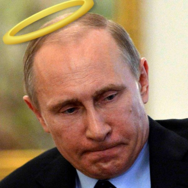 Божественный президент: Дух Путина не дает «убитому» потолку разбить головы школьникам в Оренбурге