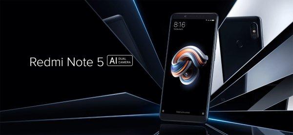 Новый смартфон Xiaomi Redmi Note 5