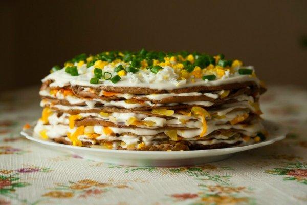 Печеночный торт - король стола! Шеф придумал собственный рецепт популярного блюда
